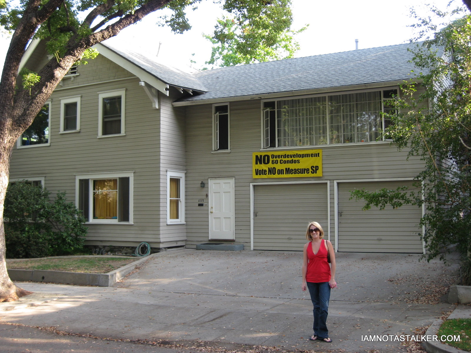 this weekend i set out to stalk jamie lee curtis house from the movie which is actually located in south pasadena not far from michael meyers childhood - Haddonfield Nj Halloween